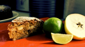 Apple & Lime Cake